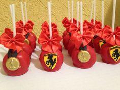 Cake Pop Ferrari