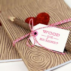 A simple new spin on a previous bookbinding tutorial. Perfect or your valentine.