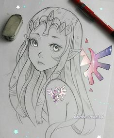 """You left a mark on me""  The Zelda craze is still in the air! What has your experience with the game been so far? How about the console itself?   I have no time for games, I can't wait till end of month when I will take a break   --  Larienne.deviantart.com --"