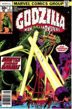 Godzilla #2 (1st Series) September 1977  Marvel Comics  Grade NM