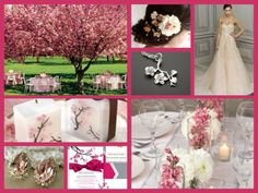 Cherry Blossom wedding theme