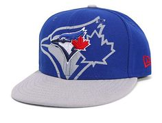 Toronto Blue Jays Youth Over Flock 59Fifty Fitted Baseball Cap by NEW ERA x MLB