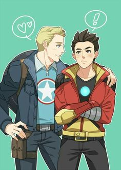 Why are they drawn in the Avengers Academy style?