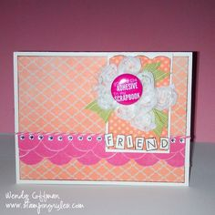 Stamping Rules!: I Do Solemnly Swear... Flair on the fly CTMH card