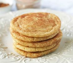 The Best Snickerdoodle Cookie Recipe. Soft and Chewy Snickerdoodle Cookies. The popular cinnamon-sugar soft and chewy sugar cookie recipe. A recipe that has been in the family for over 30 years! Chewy Sugar Cookie Recipe, Lemon Sugar Cookies, Cookie Recipes, Cinnamon Sugar Cookies, Baking Recipes, Köstliche Desserts, Delicious Desserts, Dessert Recipes, Bar Recipes