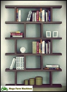 Super diy projects for the home furniture bookshelves shelves 45 ideas Bookshelves Ideas Bookshelves DIY furniture Home Ideas Projects Shelves Super Bookshelf Design, Bookshelves, Bookshelf Ideas, Library Shelves, Home Furniture, Furniture Design, Farmhouse Furniture, Furniture Ideas, Diy Home Decor