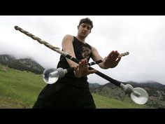This Guy's Contact Sword Skills Are Crazy Impressive! - YouTube