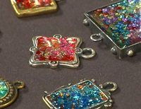 #Resin, Paper, Fibers, and More: #Mixed-Media Jewelry Making - interesting ideas, several articles are linked from this page with tutorials and ideas - love the idea of mixing various craft supply mediums together to make