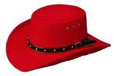 Kids Red Western San Jose Gambler Hat Child Baby Toddler Rodeo Show Pageant  Kids Cowboy Hats 75e78047d373