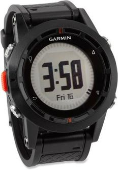 This one has it all: GPS, altimeter, barometer and compass. Garmin fenix Performer GPS ABC Heart Rate Monitor Watch