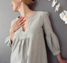 linen tunic. Maybe Tova pattern