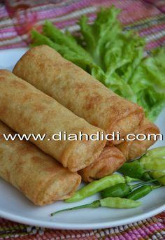 Diah Didi's Kitchen: Resep Kulit Lumpia Mudah