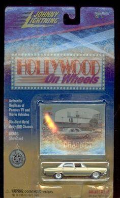 Johnny Lightning Hollywood on Wheels Dragnet Police car 1:64 Scale. #Johnny #Lightning #Hollywood #Wheels #Dragnet #Police #Scale