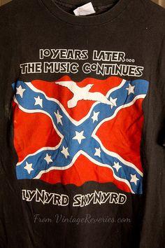 Lynyrd Skynyrd 1988 Tribute Tour Rare Stagehand tshirt, $499.99