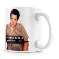 Hugh Grant Mug Shot Mug - Only £8!!