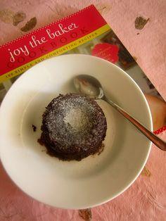 Single girl melty chocolate cake from Joy the Baker Cookbook