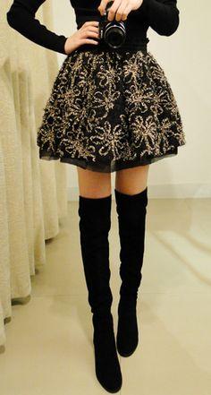 Gorgeous Flower Pattern Elastic Waist Women's Bouffant Skirt dresslily.com