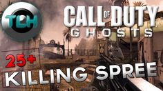 CoD Ghosts : 25+ Killing Spree ! Gameplay/Commentary