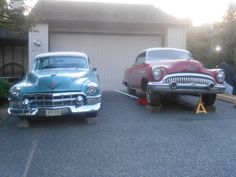 53 caddy and 53 buick