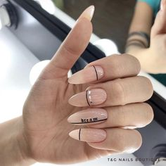 In seek out some nail designs and ideas for your nails? Here is our listing of must-try coffin acrylic nails for stylish women. Perfect Nails, Gorgeous Nails, Pretty Nails, Nude Nails, Nail Manicure, Gel Nails, Coffin Nails, Nail Polish, Nail Design Stiletto