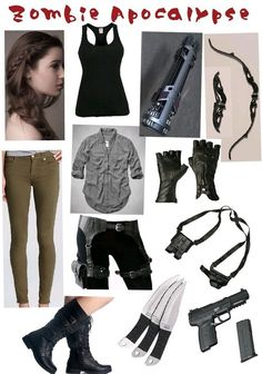 I am going to look fabulous in the zombie apocalypse 😂😝 Zombie Apocalypse Outfit, Apocalypse Fashion, Zombie Apocalypse Survival, Girl Outfits, Casual Outfits, Fashion Outfits, Walking Dead Clothes, Post Apocalyptic Fashion, Badass Outfit
