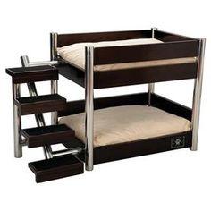 Metropolitan Pet Bunk Bed in Espresso