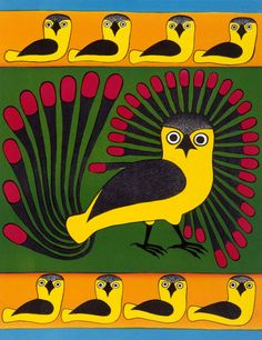 Tapestry of Owls, by Kenojuak Ashevak (Inuit artist), 2002