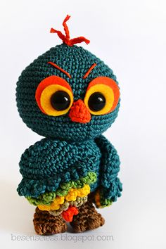 Where is the Wonderland? Crochet, knit and amigurumi.: Tac amigurumi owl