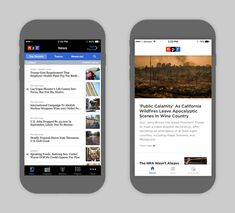 Design Show-and-Tell: the NPR News App Gets a Facelift
