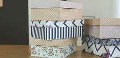 Cinco em 1: Aprenda a encapar caixas de sapato