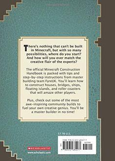 Minecraft: Construction Handbook: An Official Mojang Book: Scholastic: 9780545685177: Amazon.com: Books