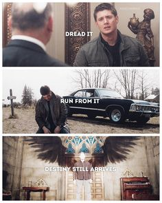 I'm really hyped for Michael!Dean