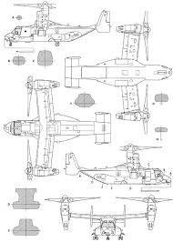 Resultado de imagem para v-22 osprey blueprint | per | Diagram, Mv