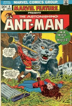 MARVEL FEATURE 9, ANT-MAN, BRONZE AGE MARVEL COMICS