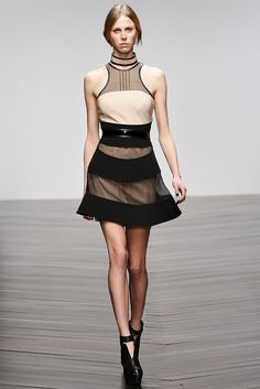 David Koma Fall 2013 RTW #David Koma #fall #ready to wear #runway #fashion.