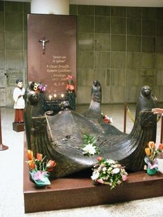Visit the tomb of Archbishop Oscar Romero in the basement of the national cathedral in downtown San Salvador, El Salvador.
