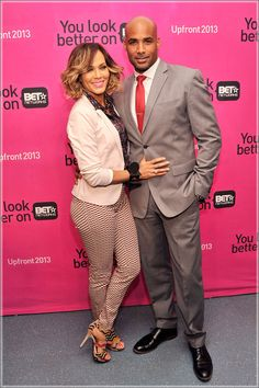 Boris Kodjoe and wife Nicole Ari Parker