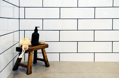 Deadline Design Port Melbourne Tiles- Industrial Chic Subway Tiles, Industrial Chic, Melbourne, Shelves, Design, Home Decor, Shelving, Decoration Home, Room Decor