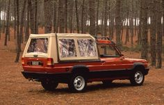 french-cars-since-1946:  1981 Talbot-Matra Rancho Softtop