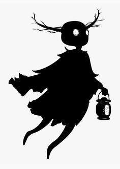 Character Concept, Character Art, Cartoon Silhouette, Halloween Stencils, Over The Garden Wall, Adventure Time, Creepy, Cool Art, Batman