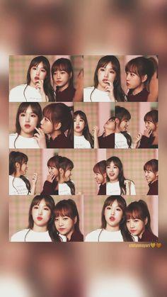 #yenyul #yena #yuri #izone Fandom, 3 In One, First Baby, Female Singers, Cute Couples, Yuri, My Idol, Thats Not My, Best Friends