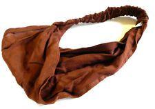 Hairband BROWN Head Band Headband Head Scarf Ladies Mens Tissu Ethnic India