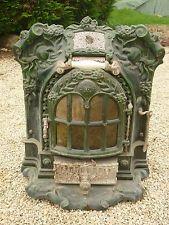 Ancien Poele Emaille Eme Salamandre Deco Design Chauffage