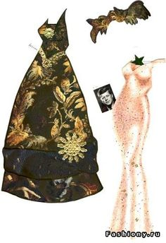 Marilyn Monroe #2 <> RUSSIAN  Куклы-знаменитости из бумаги / ENGLISH Celebrity Paper Doll 5 of 5