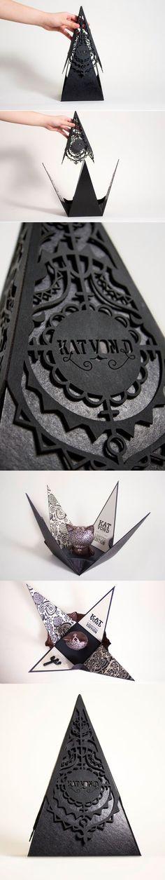 紙雕藝術 錐形包裝 | MyDesy 淘靈感