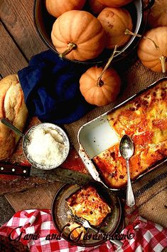 PUMPKIN LASAGNA WITH SAGE WHITE SAUCE Pumpkin Lasagna with Sage White Sauce with Mozzarella and Parmesan Cheese is a mouthful to say and more than the best mouthful to eat that you will every find anywhere. Well, that may be a little over the. Pumkin Recipes, Fall Recipes, Whole Food Recipes, Cooking Recipes, Lasagna Recipes, What's Cooking, Apple Recipes, Rice Recipes, Dinner Recipes
