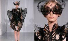 3D printed fashion - IRIS VAN HERPEN