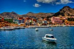 Your tour of the lake and the floating islands will depart from Puno.  Please check out our website for details.