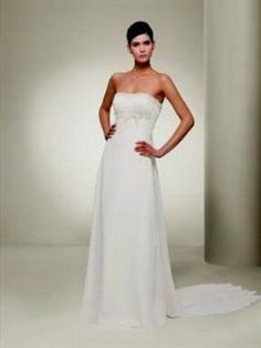 Nice simple elegant strapless wedding dresses 2017-2018 Check more at http://24myfashion.com/2016/simple-elegant-strapless-wedding-dresses-2017-2018/