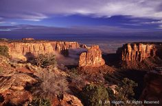 Colorado National Monument in Grand Junction, CO